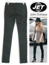 JET★John Eshaya T's‐ black Blot Jeans