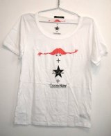 LaFine★PippiCollaborationCreate NowコラボチャリティTシャツ (White)