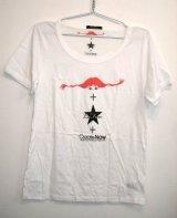 LaFine★PippiCollaborationCreate NowコラボチャリティTシャツ (White)