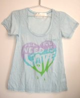 Public Library★Burnout PocketTシャツALL U NEED(Sky)