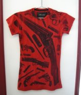 Torsion★Barrel of a Gun Tシャツ
