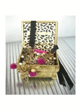 BETSEY JOHNSON★Multi Row Pinkネックレス