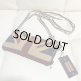 LONDON Notting Hill★Union Jack Wallet shoulder&clutch/unionjack限定1個