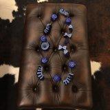 SpainBarcelona★OrganicHandMade100%Wool mogol/Blue