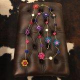 SpainBarcelona★Organic HandMade 100%Wool mogol/flower
