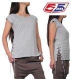 55DSL★Tidelaces Tシャツ (Grey)